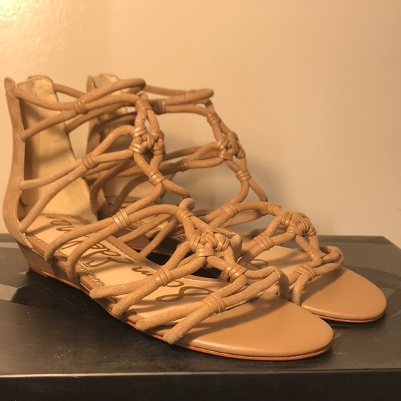55479f71e2c Sam Edelman leather gladiator sandals size 8 Daryn